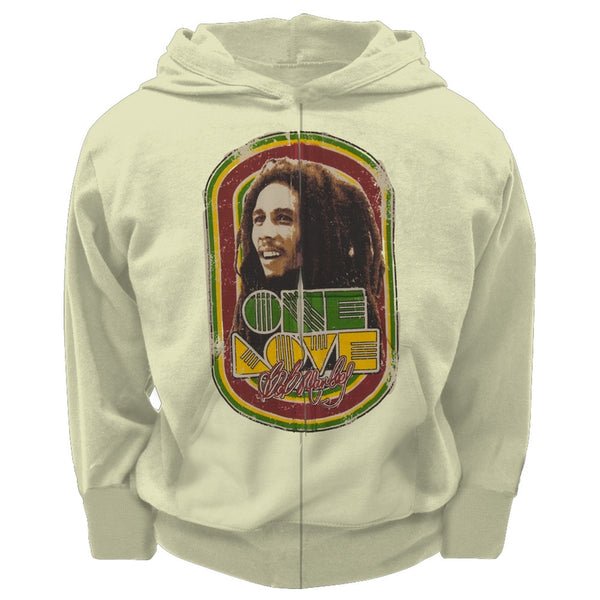 Bob Marley - One Love Toddler Zip Hoodie
