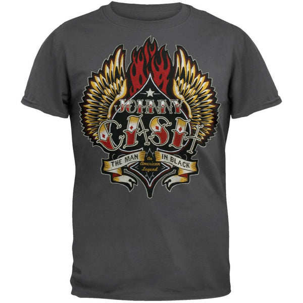 Johnny Cash - Wings T-Shirt