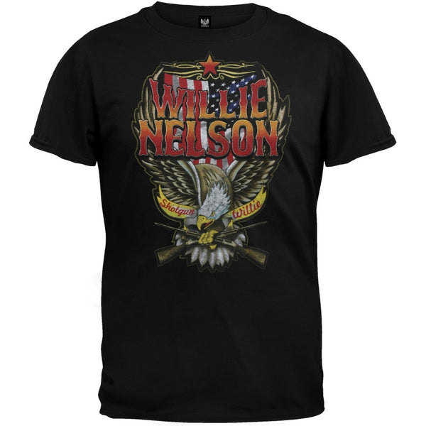 Willie Nelson - Stars & Stripes T-Shirt