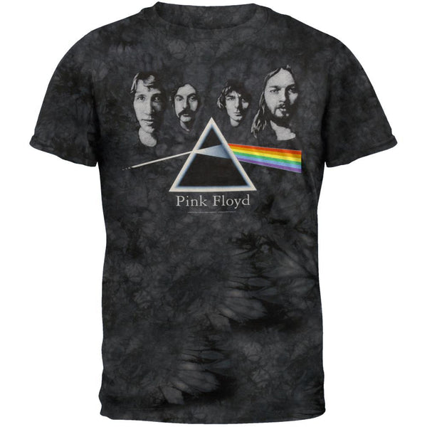 Pink Floyd - Dark Side Group Tie Dye T-Shirt