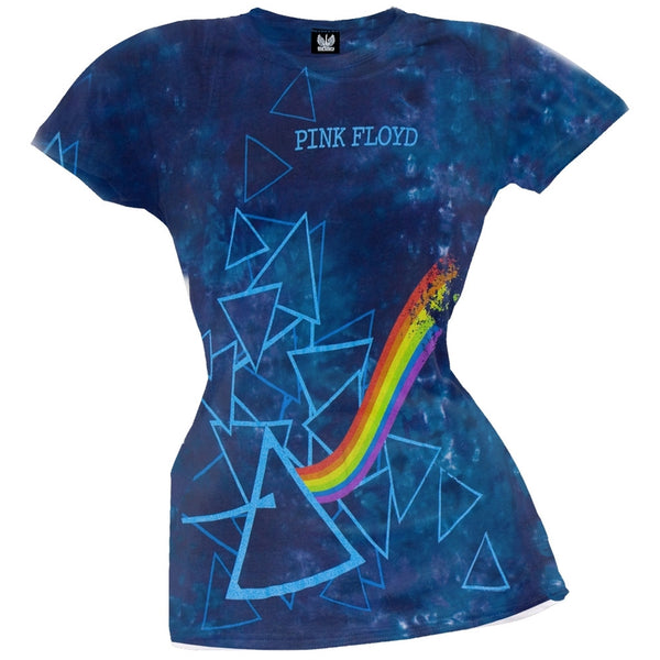 Pink Floyd - Prisms Juniors Tie-Dye T-Shirt