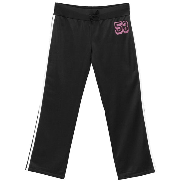 Tinkerbell - Black And Pink Youth Track Pants