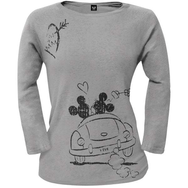 Mickey Mouse - 4Ever Juniors Long Sleeve T-Shirt