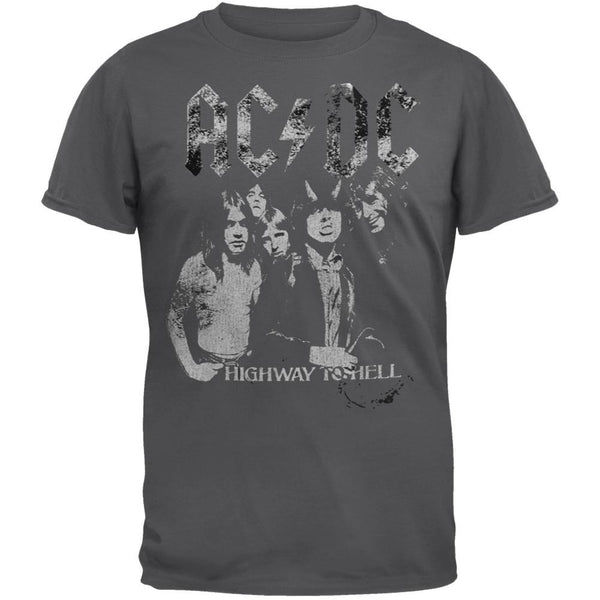AC/DC - Highway To Hell Group Soft T-Shirt