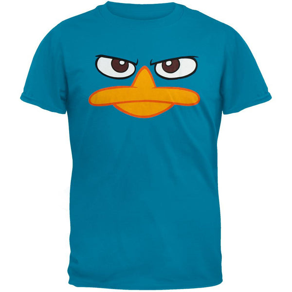 Phineas & Ferb - Perry The Platypus Face T-Shirt