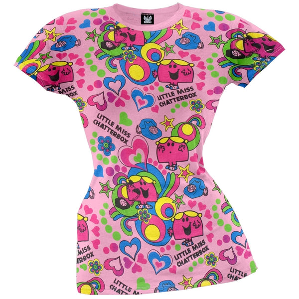 Little Miss - Chatterbox All-Over Juniors T-Shirt