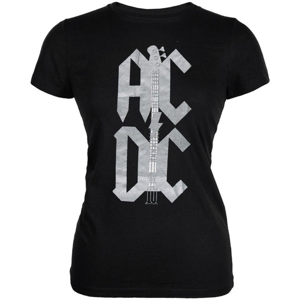 AC/DC - Foil Guitar Arm Juniors T-Shirt