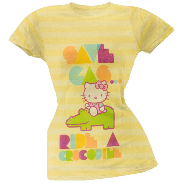 Hello Kitty - Croc Juniors T-Shirt