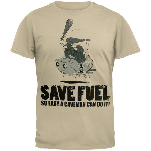 Captain Caveman - Save Fuel T-Shirt