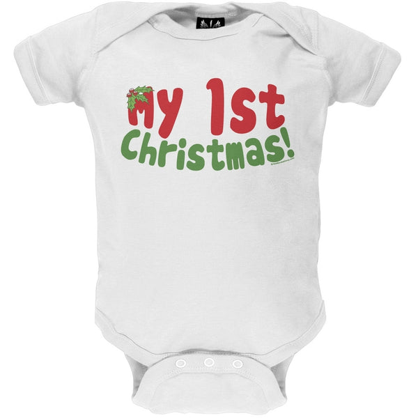 My 1st Christmas Baby One Piece
