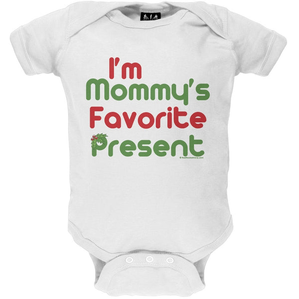 Mommy's Favorite Present - Holiday Baby One Piece