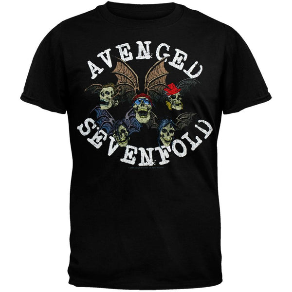 Avenged Sevenfold - Characters Black T-Shirt