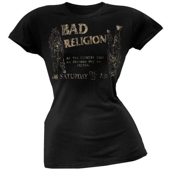 Bad Religion - Country Club Juniors T-Shirt