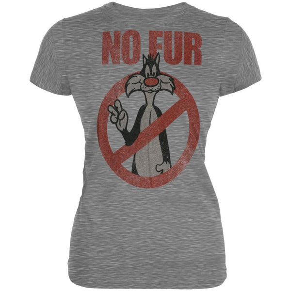 Looney Tunes - No Fur Juniors T-Shirt