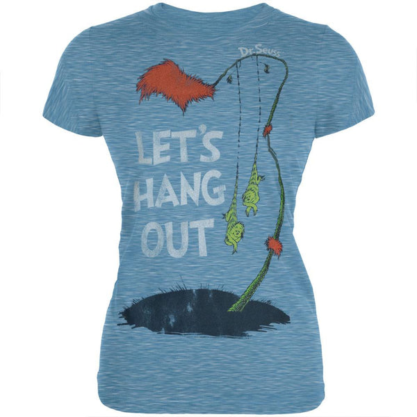 Dr. Seuss - Lets Hang Out Juniors T-Shirt