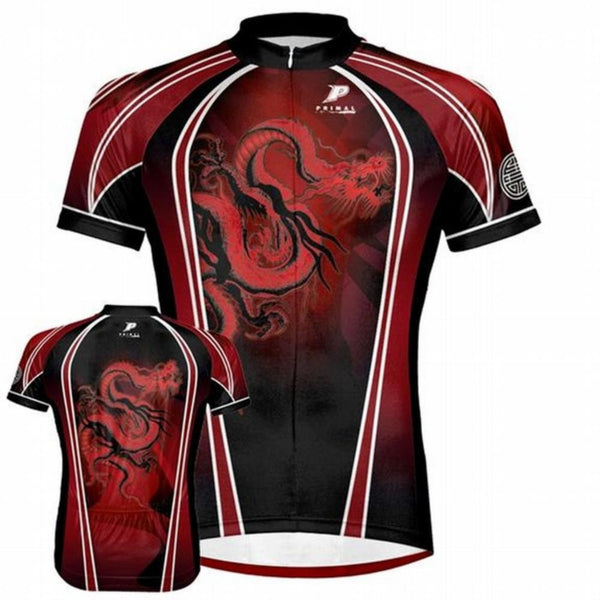 Red Dragon Cycling Jersey