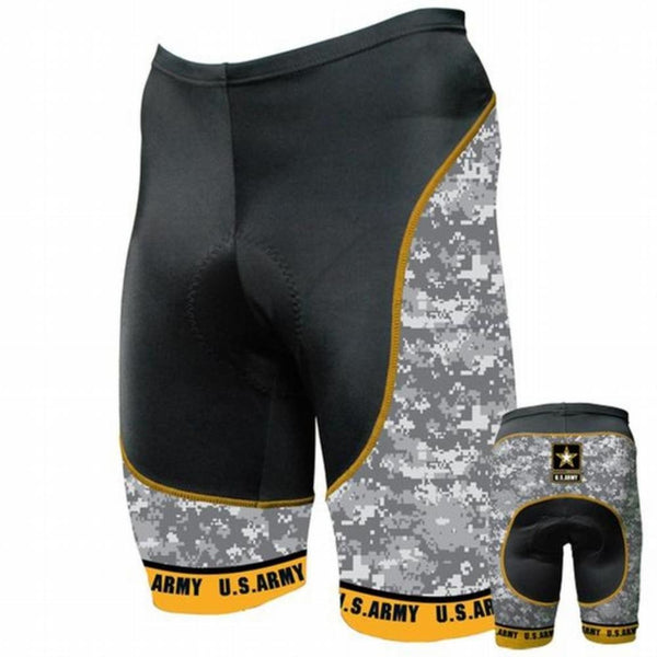 US Army - Camo Cycling Shorts