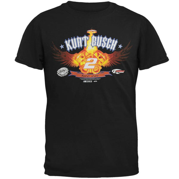 Nascar - Kurt Busch Flame Engines T-Shirt