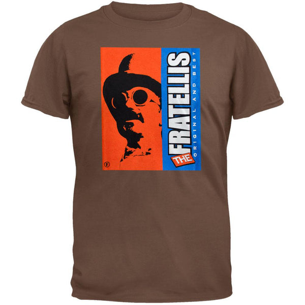 The Fratellis - Original Brown Adult T-Shirt