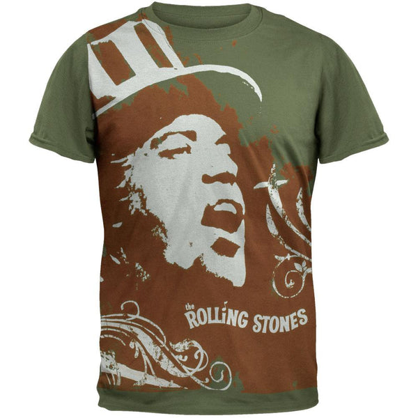 Rolling Stones - Top Hat Mick Subway T-Shirt