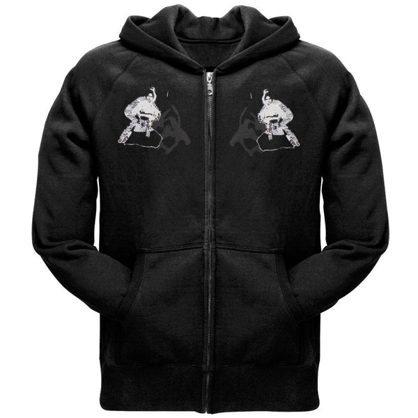 Kung Fu Records - Warrior Zip Hoodie