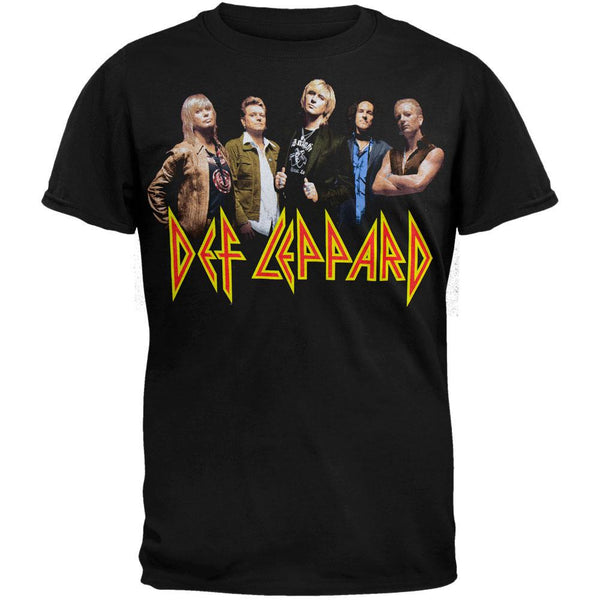 Def Leppard - Group Photo 07 T-Shirt