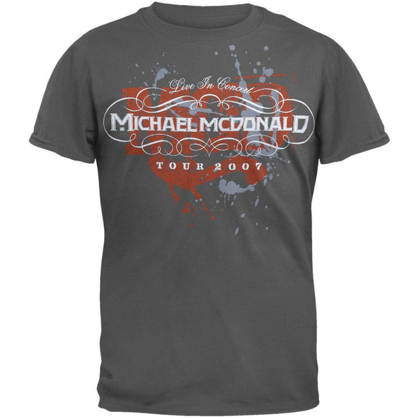 Michael Mcdonald - Grey Splatter 07 T-Shirt