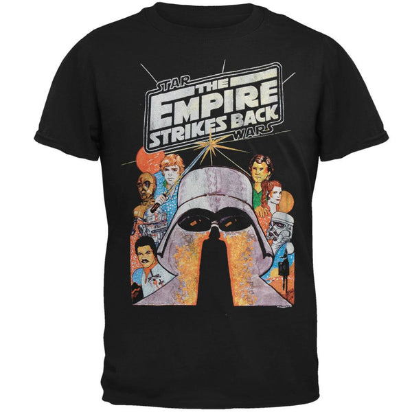 Star Wars - Empire Strikes Back Drawing Soft T-Shirt