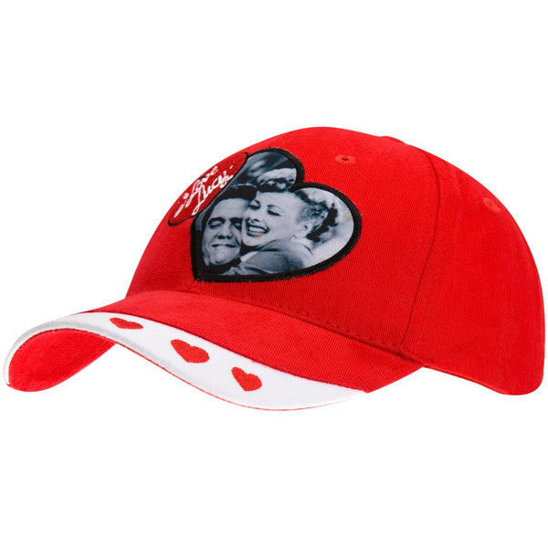 I Love Lucy - Smiles Red Adjustable Baseball Cap