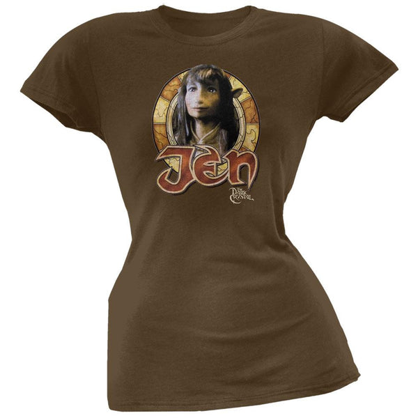 Dark Crystal - Jen Circle Juniors T-Shirt