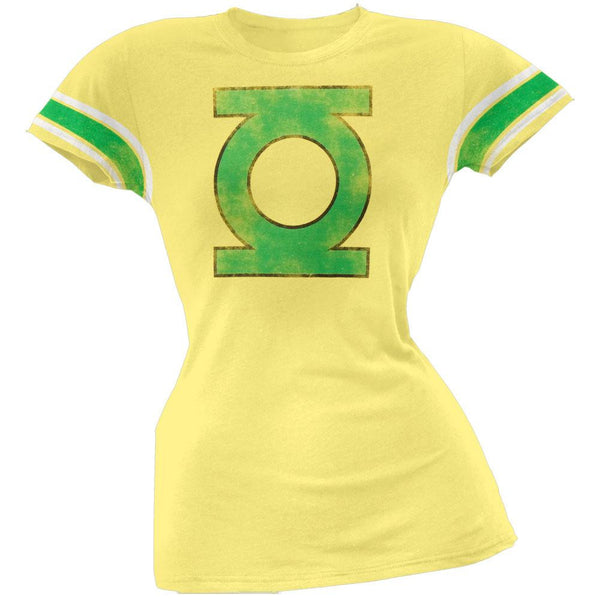 Green Lantern - Distressed Logo Juniors T-Shirt