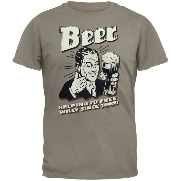 Beer - Helping To Free Willy T-Shirt