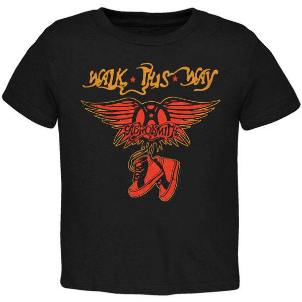 Aerosmith - Walk This Way Toddler T-Shirt