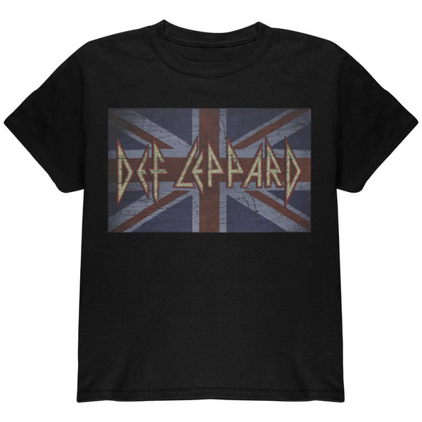 Def Leppard - Young Union Jack Youth T-Shirt