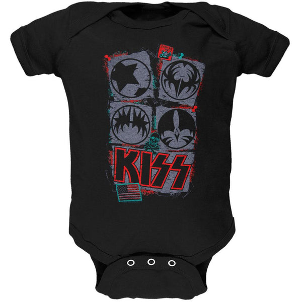 Kiss - Lil Saint Baby One Piece