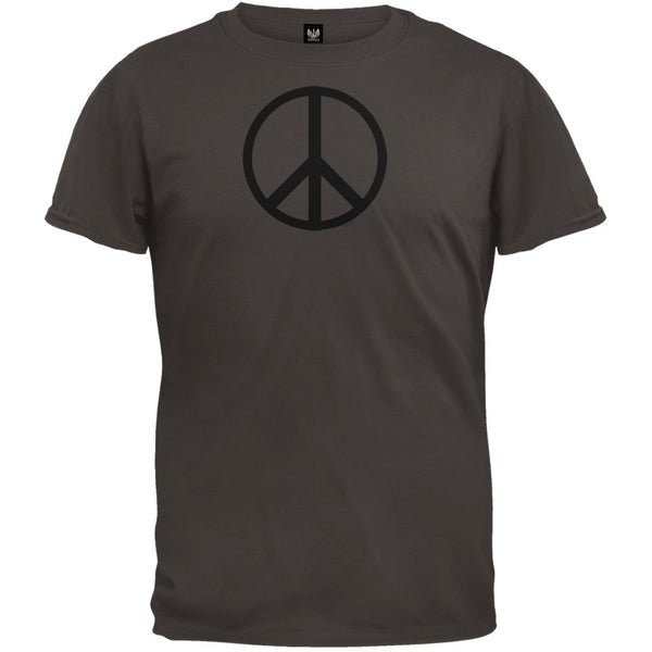 Peace Sign Dark Chocolate T-Shirt
