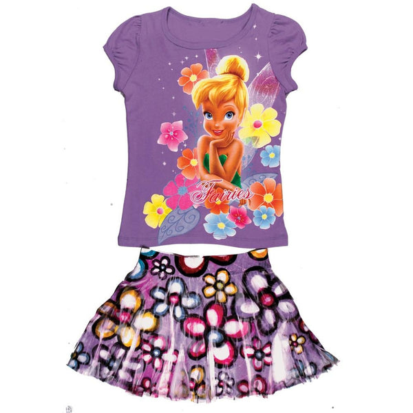 Tinkerbell - Girls Juvy Skirt Set