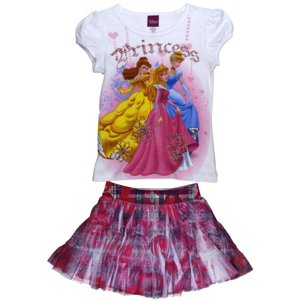 Disney Princess - Girls Juvy Skirt Set