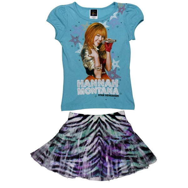 Hannah Montana - Girls Juvy Skirt Set