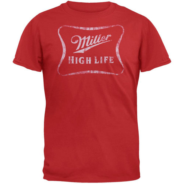 Miller High Life - Distressed Logo Soft T-Shirt