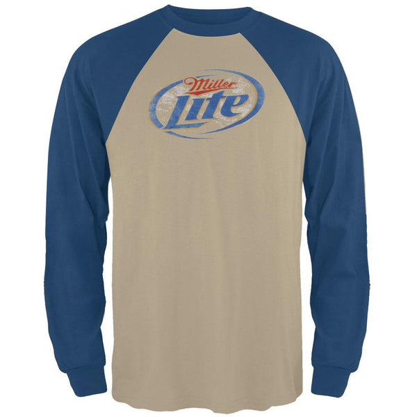 Miller Lite - Logo Diamond Long Sleeve T-Shirt