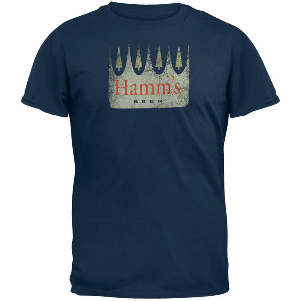 Hamm's - Distressed Flock Soft T-Shirt