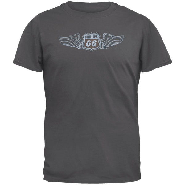 Philips 66 - Aviation Flocked Soft T-Shirt