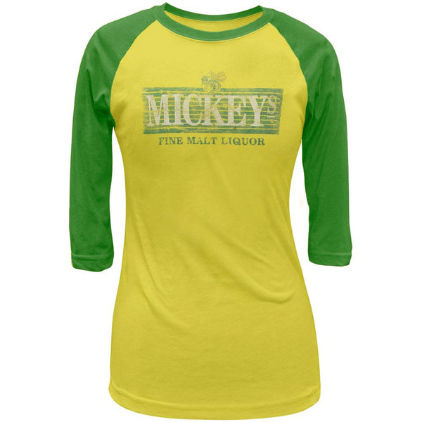 Mickey's - Logo Diamond Juniors Raglan