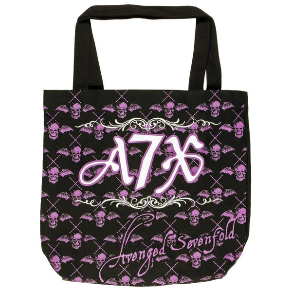 Avenged Sevenfold - Deathbat Repeat Tote Bag
