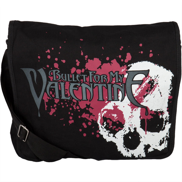 Bullet For My Valentine - Skull Splatter Messenger Bag