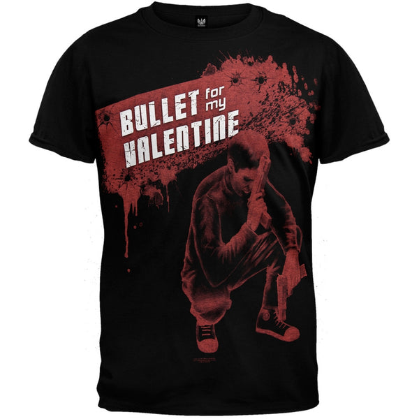 Bullet For My Valentine - Red Guns T-Shirt