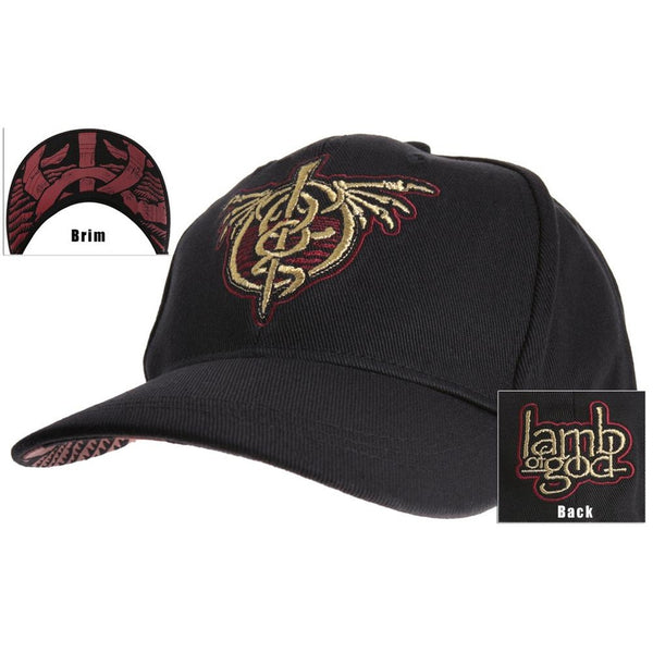 Lamb Of God - Wraith Fitted Cap