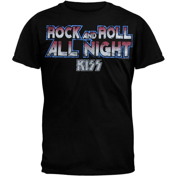 Kiss - All Night Soft T-Shirt