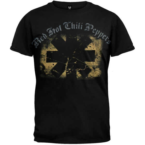 Red Hot Chili Peppers - Textured Rectangle T-Shirt